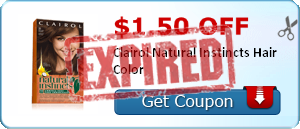 $1.50 off Clairol Natural Instincts Hair Color