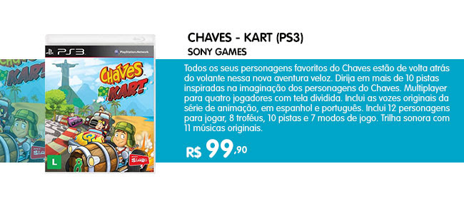 CHAVES - KART (PS3)