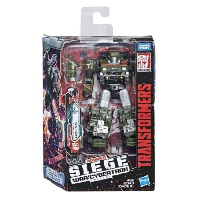 Image of Transformers: Generations - War For Cybertron Siege Deluxe Wave 1 - Hound