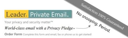 leader private email form