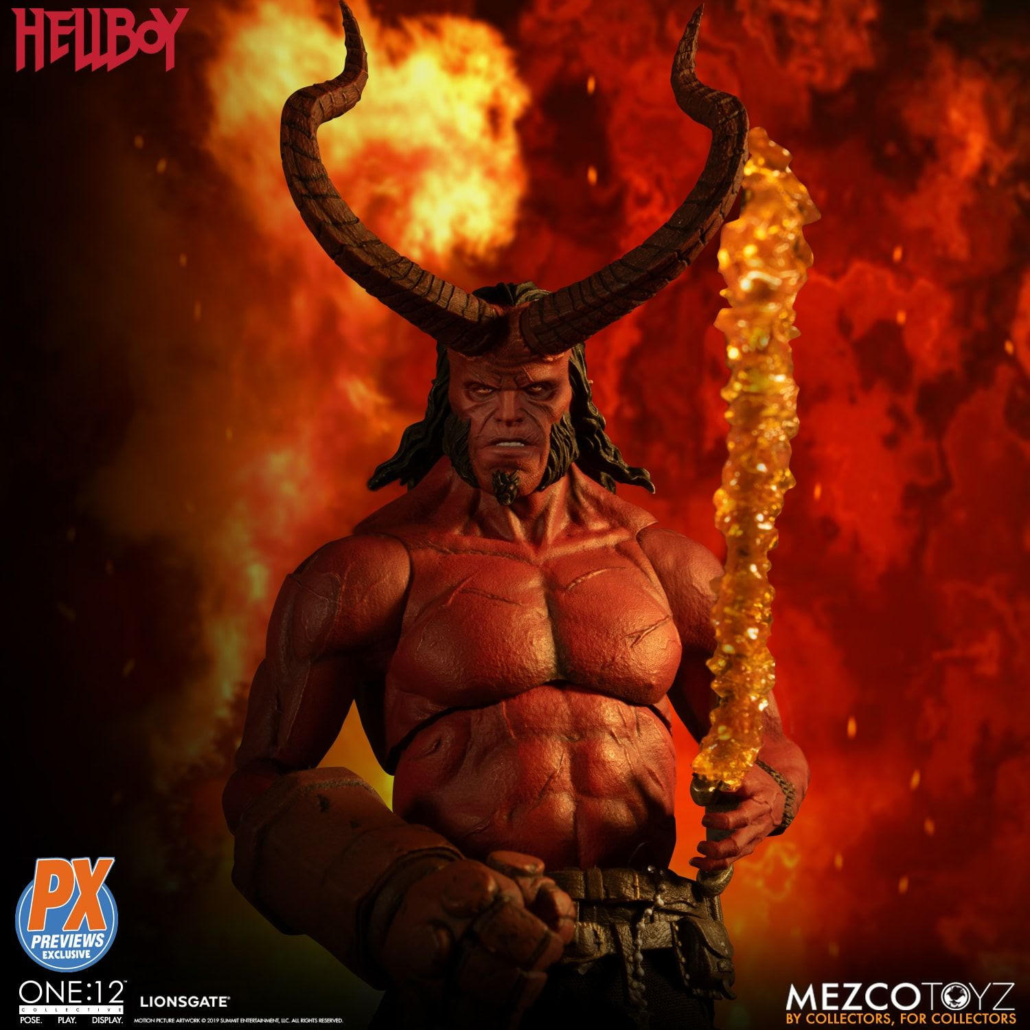 Image of One:12 Collective Hellboy (2019): Anung Un Rama Edition PX Exclusive - JUNE 2020