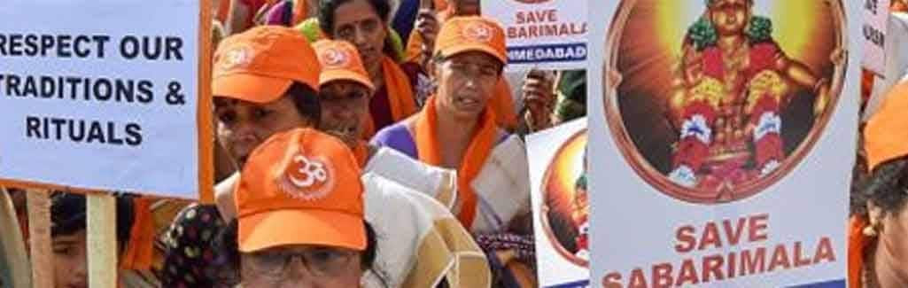 Sabarimala: Why BJP wants to 'empower' Muslim women but is against equal rights for its Hindu daughters