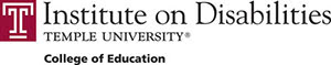 LOGO: Institute on Disabilities at Temple University, College of Education