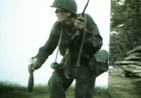 Operation Storm 1995 Croat soldier in action
