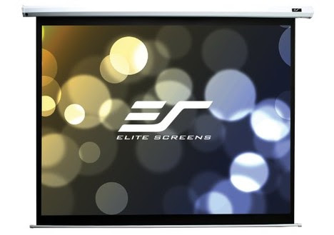 Elite Screens Spectrum Series 100-inch Motorized Projector Screen