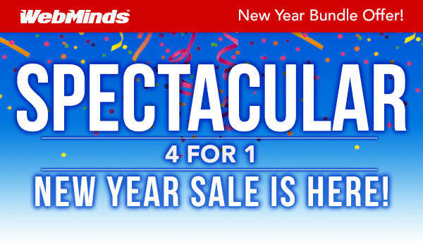 WebMinds New Year 2020 Sale