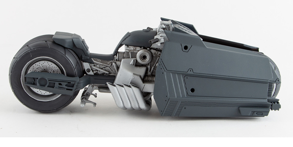 Batman: Curse of the White Knight DC Multiverse Batcycle
