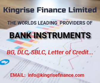 Kingrise Finance Limited- Top Bank Guarantee (BG) Providers, genuine provider of bank guarantee, lease bank guarantee providers, top provider of leased bank guarantee, leading provider of bank guarantee, real bank guarantee (BG) provider, international bank guarantee providers, provider of leased bank guarantee