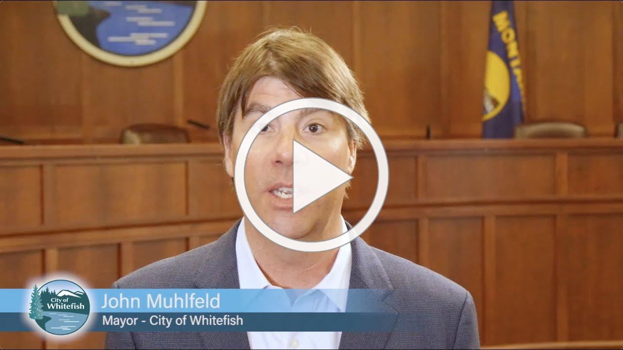 A message from mayor Muhlfeld