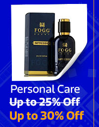 Personal Care up to 30% Off