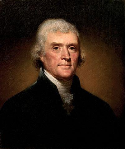 """Thomas Jefferson - cha đẻ của bản Tuyên ngôn Độc lập khi ấy đang đảm nhiệm vị trí Công sứ Mỹ tại Pháp, từ Paris đã viết thư cho John Adams rằng: """"Đó thực sự là cuộc quần tụ của những người con của Thần thánh""""."""