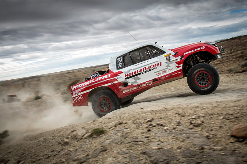 Honda Racing, Jeff Proctor, Honda Ridgeline, Bink Designs, General Tire
