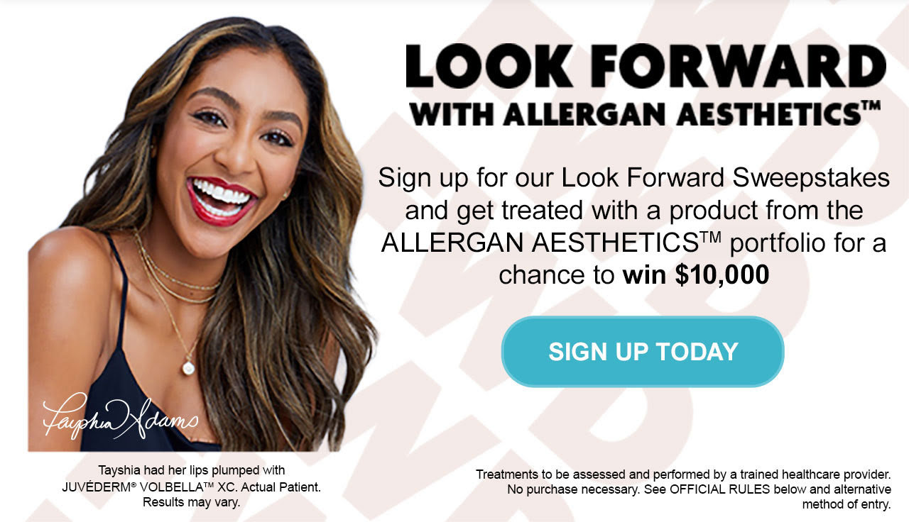 Sign up for our Look Forward Sweepstakes - SIGN UP TODAY
