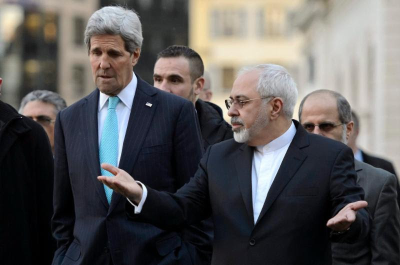 Iran Nuclear Talk between Kerry and Zarif