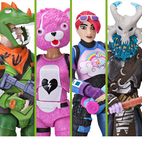 Fortnite Squad Mode Core Figure Four-Pack