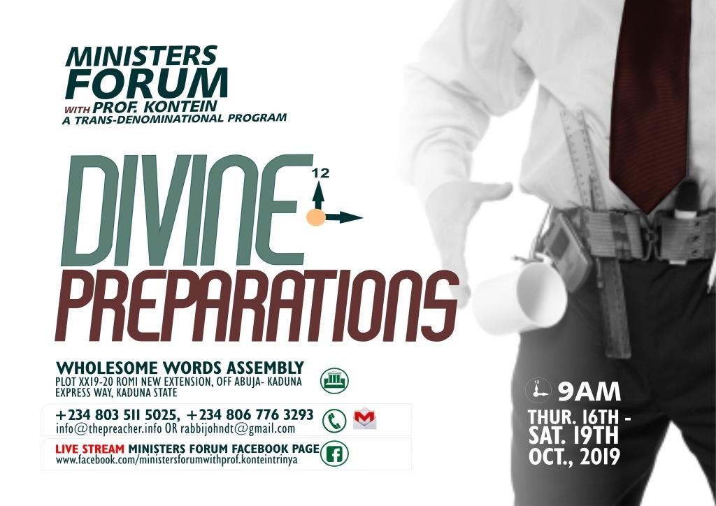 Divine Preparation