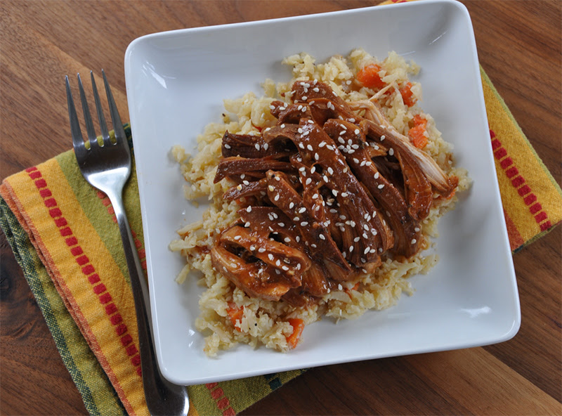 Sweet Garlic Slow Cooker Chicken