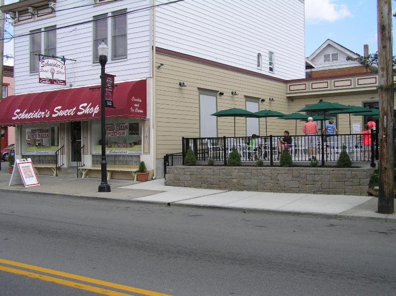 August 2014 with the new patio