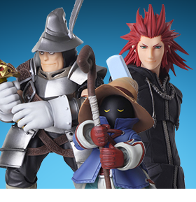Bring Arts Final Fantasy & Kingdom Hearts