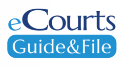 eCourts Guide & File logo draft