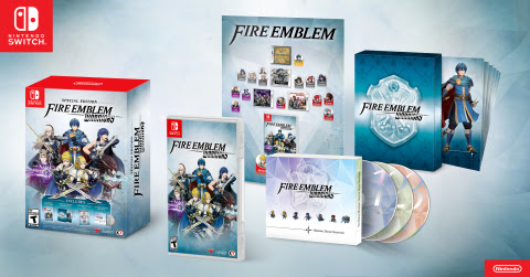 Fire Emblem Warriors launches for Nintendo Switch, as well as New Nintendo 3DS, New Nintendo 3DS XL ...