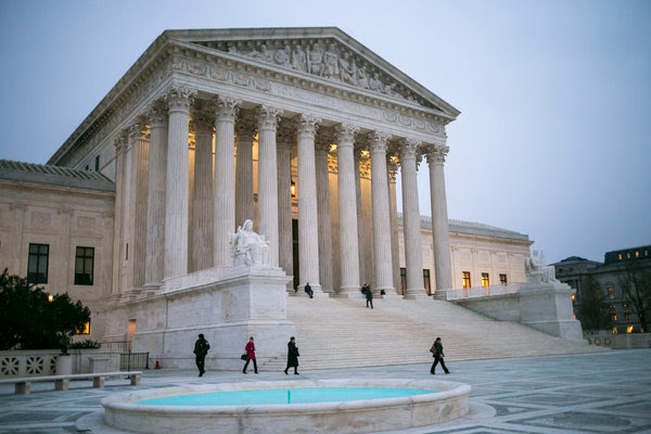 The Supreme Court in Washington this month.