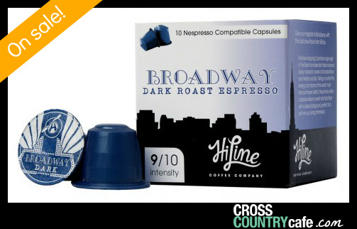 Broadway Nespresso compatible coffee capsules
