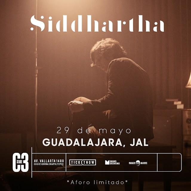 Después de una larga espera, por fin los fanáticos de Siddhartha lo podrán ver en vivo.