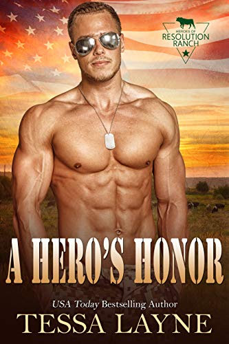 Cover for 'A Hero's Honor (Heroes of Resolution Ranch Book 1)'