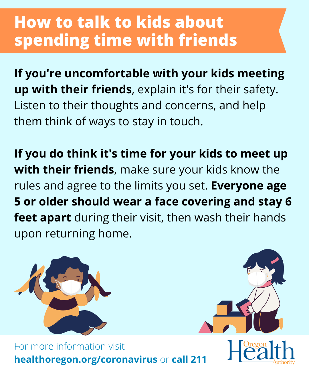 How to talk to kids about spending time with friends