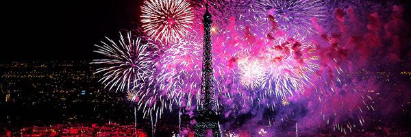 Le concert de Paris et le feu d'artifice du 14 juillet 2017