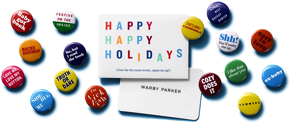Gifting for Procrastinators with Warby Parker