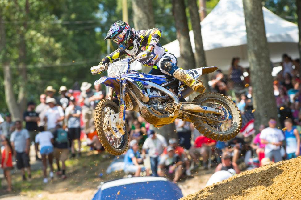 Barcia will transition from riding a Yamaha to a Suzuki for the 2017 season.Photo: MX Sports Pro Racing