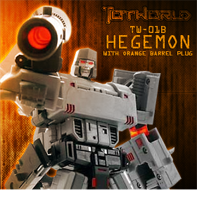 TW-01B HEGEMON WITH ORANGE BARREL PLUG