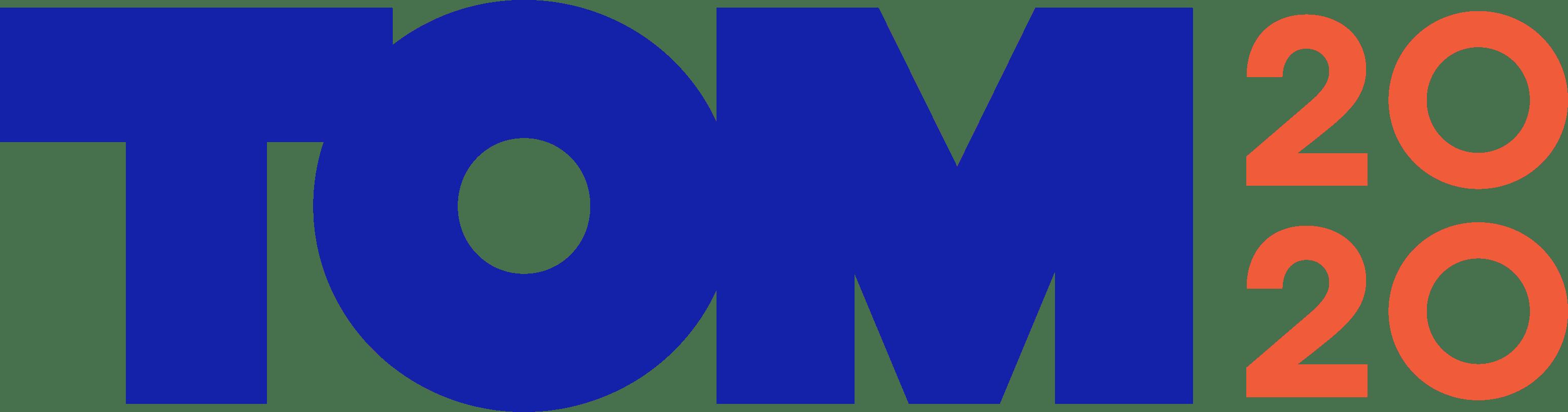 Tom 2020 Logo