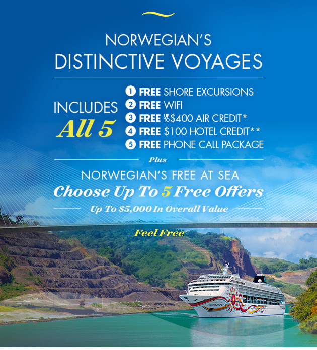 Norwegian's Distinctive Voyages