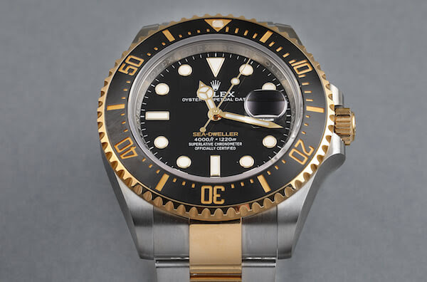 Rolex Sea-Dweller Steel Yellow Gold Black Dial ref 126603