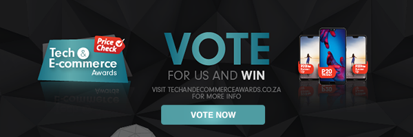 Vote for us at the Tech & E-commerce Awards!