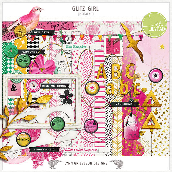 Glitz Girl kit (enable images to view)