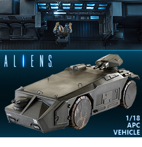1/18 SCALE ALIENS ARMORED PERSONNEL CARRIER VEHICLE