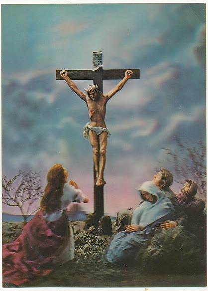Trójwymiarowa 3 D Pan Jezus na krzyżu - 6772067318 - oficjalne archiwum  Allegro