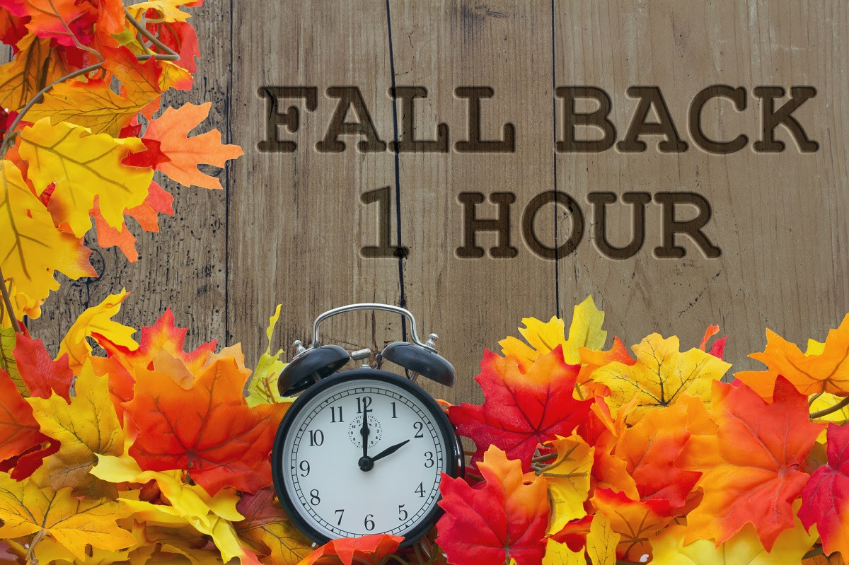 Image result for daylight savings time fall back 2019