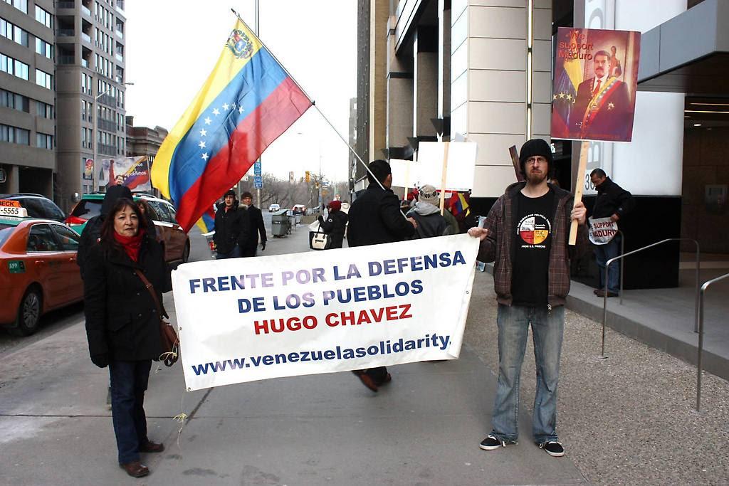Canadienses continúan repudiando agresión de EE.UU. contra Venezuela