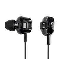 Monoprice Dual Driver Earbuds Headphones with In-line Mic/Controller