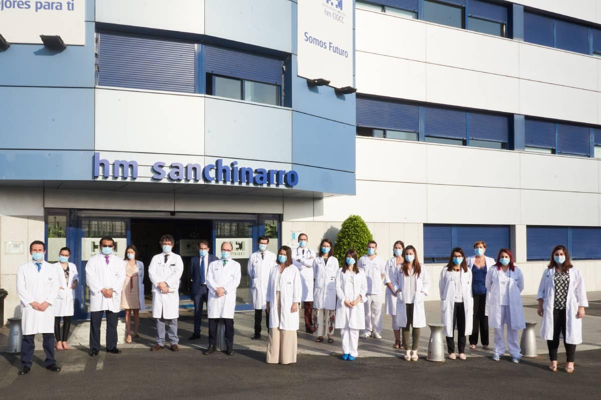 Equipo de investigadores y oncólogos de HM Hospitales participantes en 'COVACTA'.