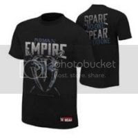 Roman Reigns Roman Empire Authentic T-Shirt