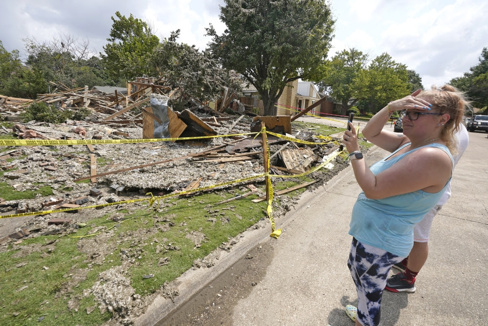 Texas house explosion that injured six may have been intentional