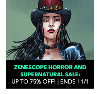 Zenescope Horror and Supernatural Sale: up to 75% off! Sale ends 11/1.