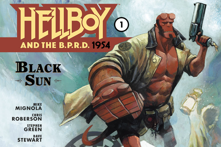 HELLBOY AND THE B.P.R.D.: 1954--THE BLACK SUN #1