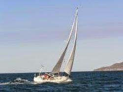 J/130 sailing off Banderas Bay, Mexico